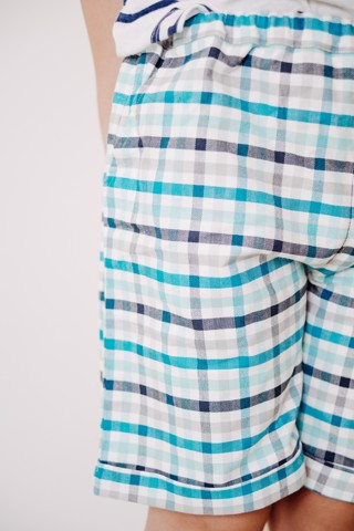 GREEN STRIPE SHORT