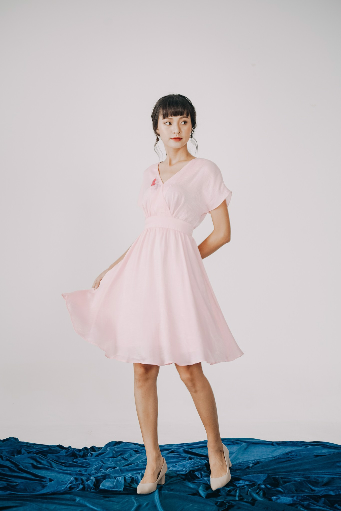 SILKY DAISY MM DRESS