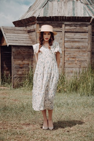 COUNTRY FALLING MM DRESS