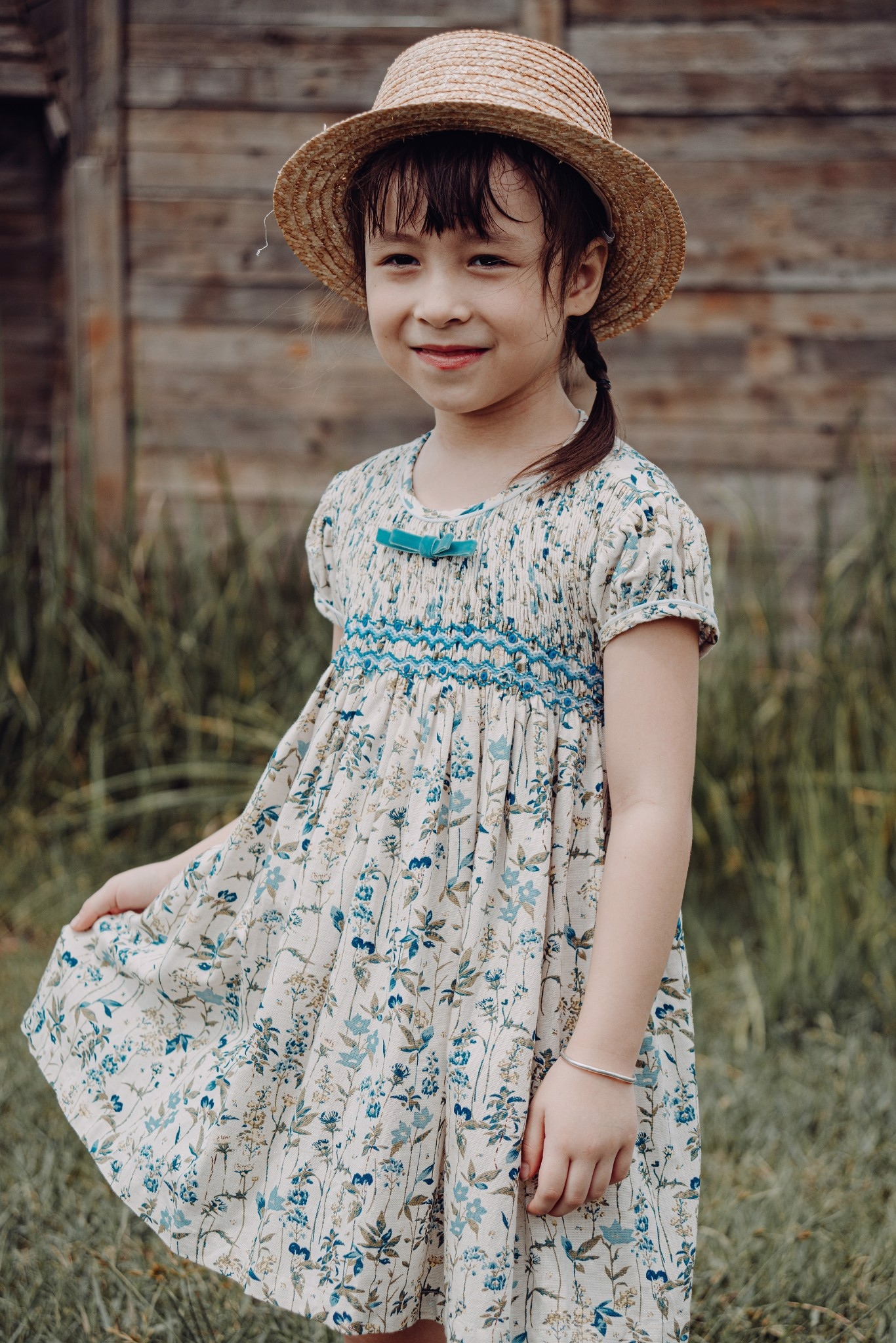 COUNTRY FALLING SM DRESS