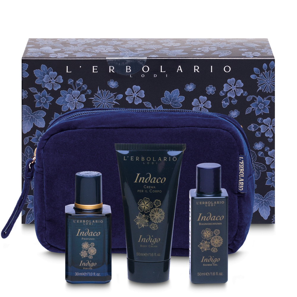 L'ERBOLARIO INDACO BEAUTY POCHETTE (30, 50, 50ML)