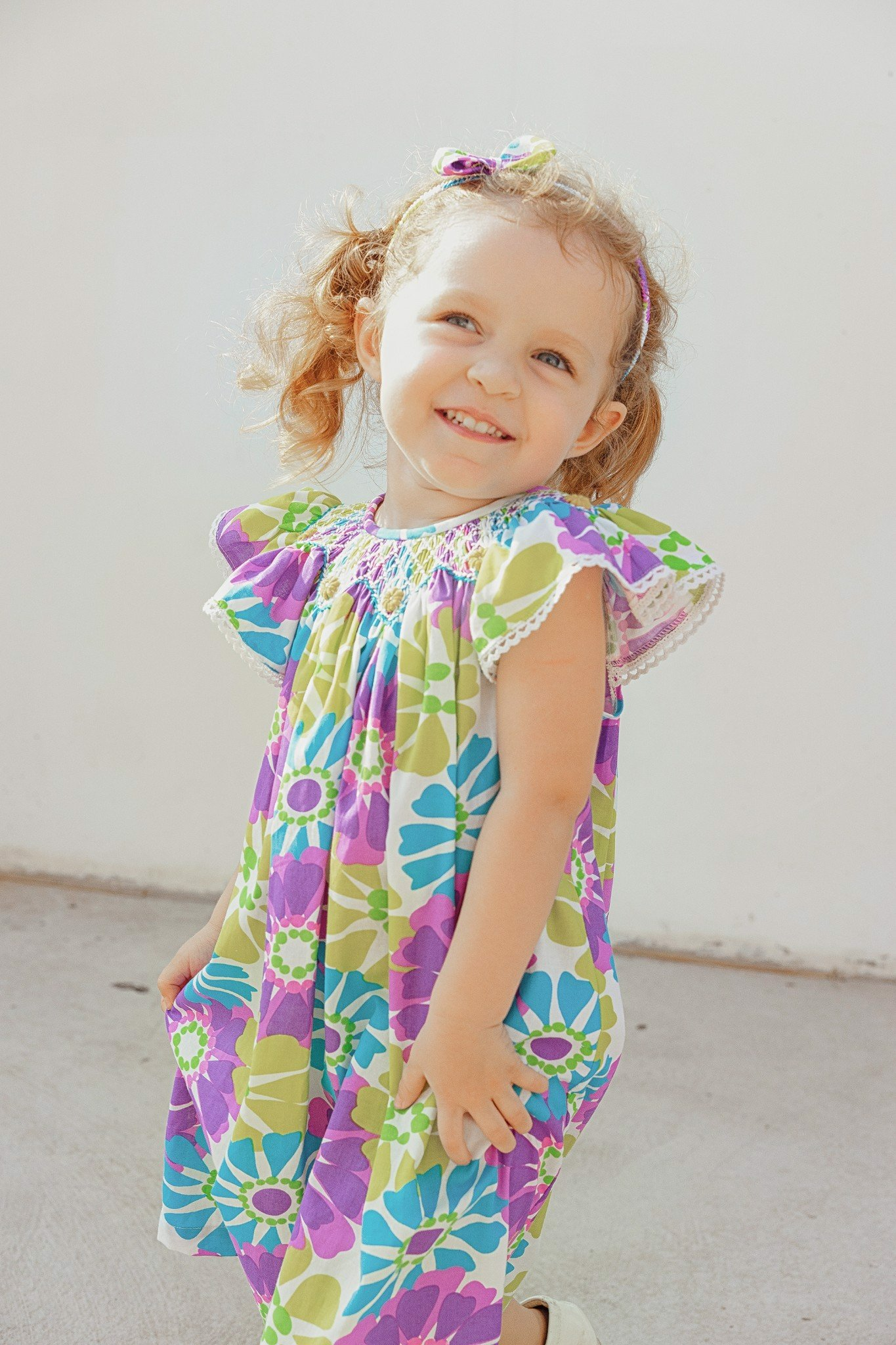 SEA MARGUE FLOWER DRESS