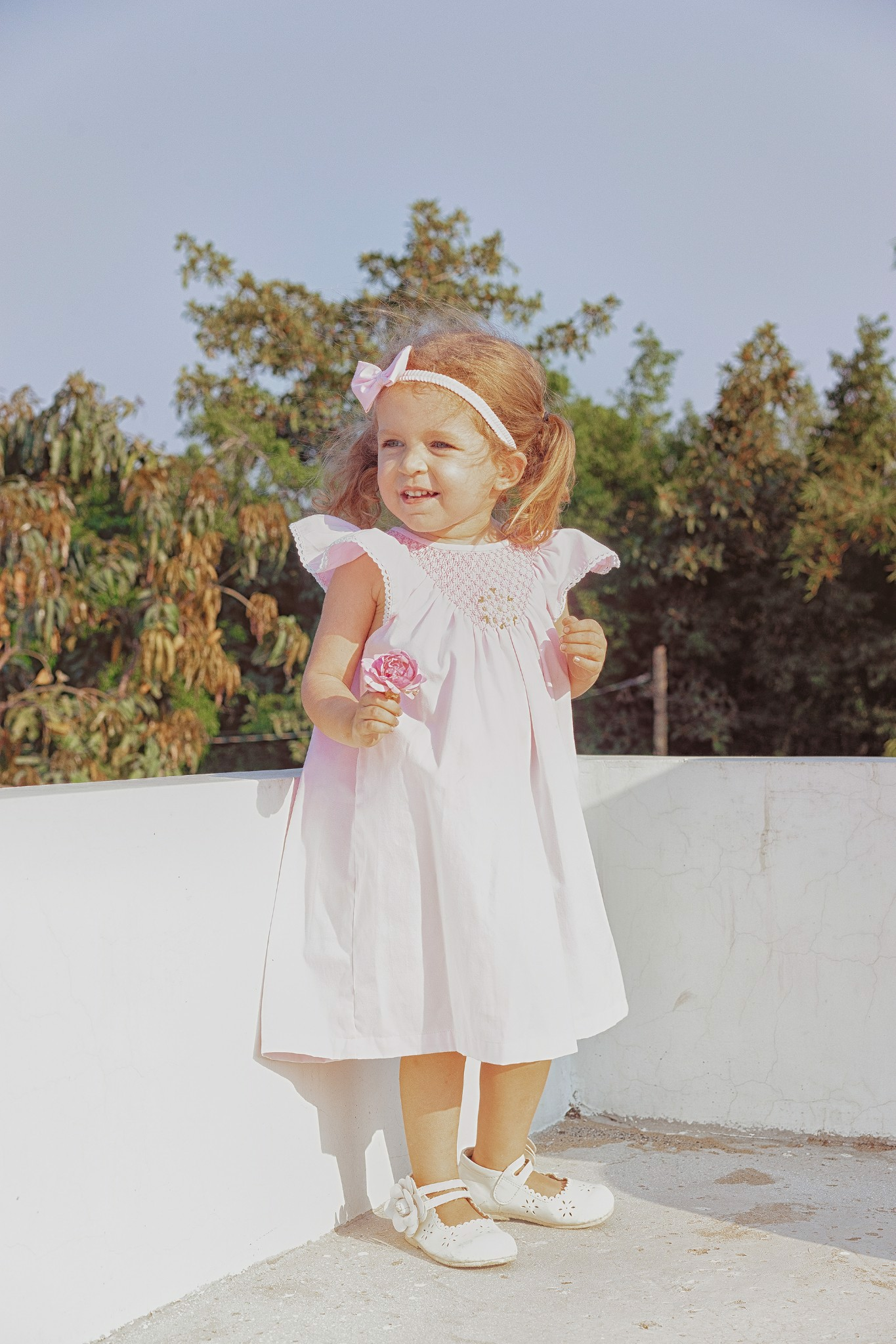 PINK CLOUD SM DRESS