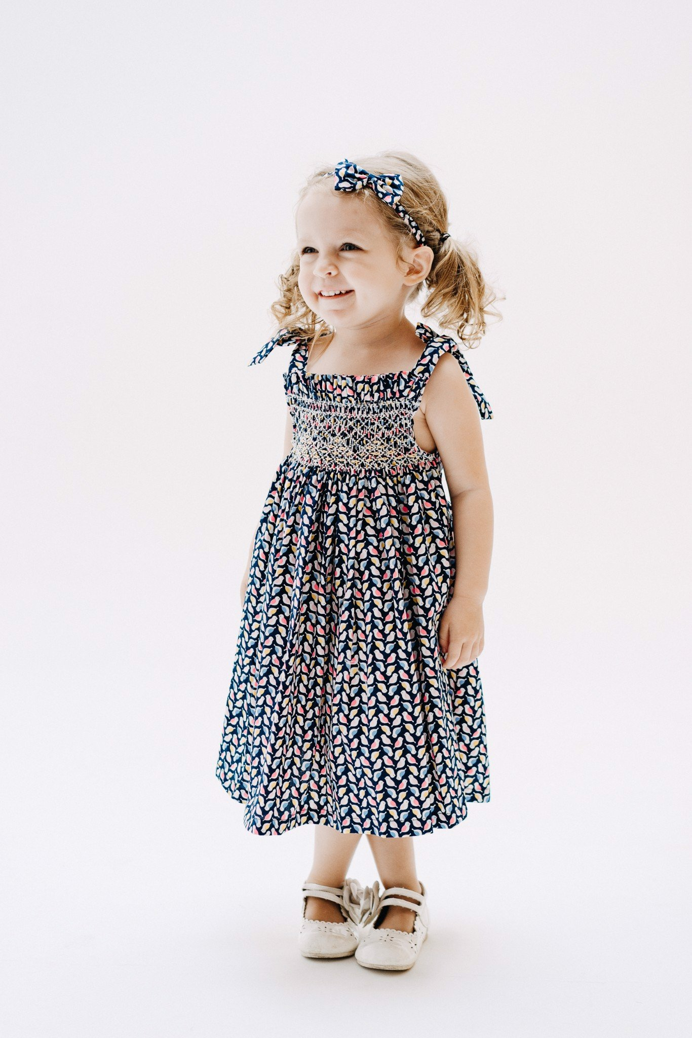 FLOCK SPARROWS SM DRESS