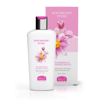 HELAN BATH AND SHOWER GEL DELICATE SCENTED
