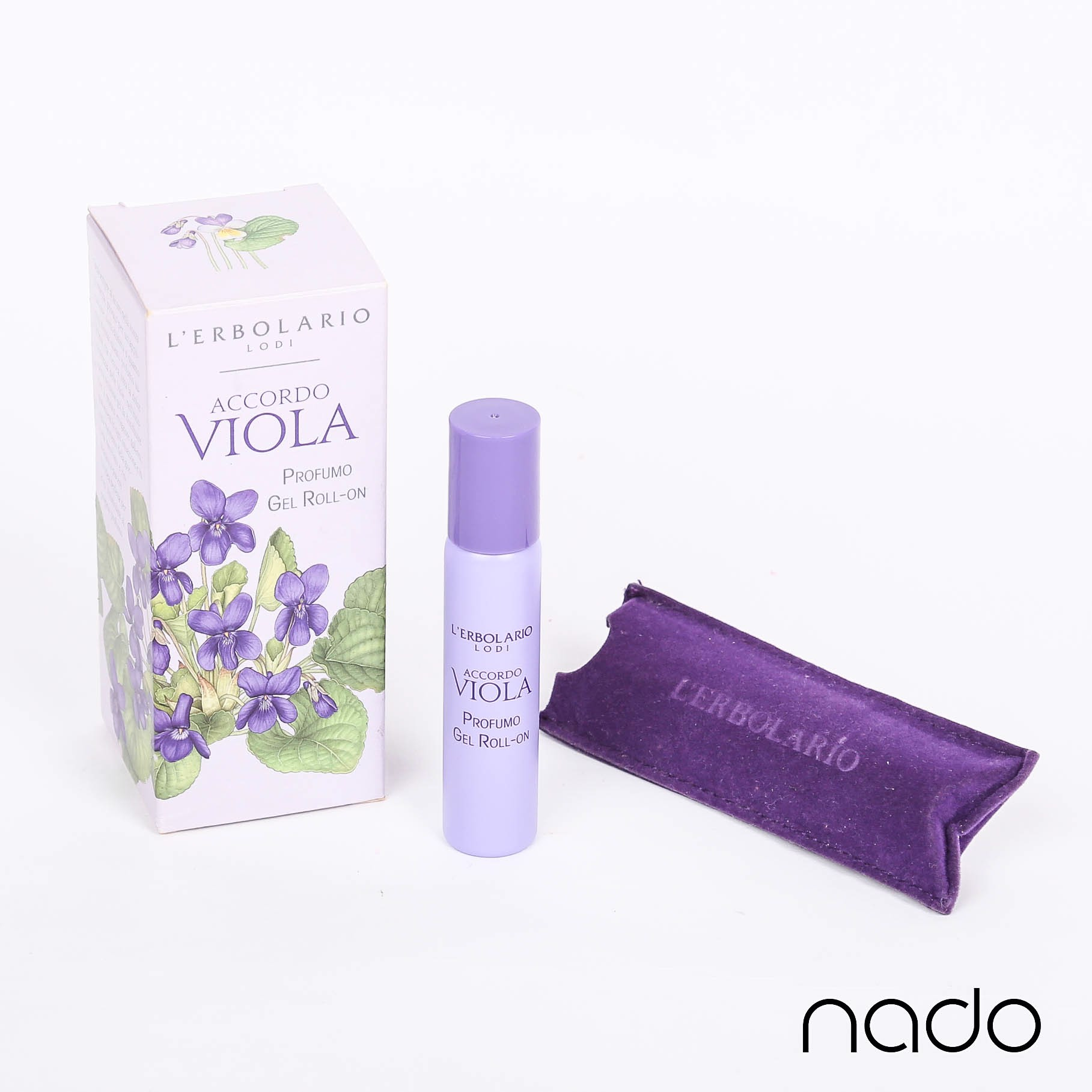 L'ERBOLARIO ACCORDO VIOLA PROFUMO GEL ROLL-ON