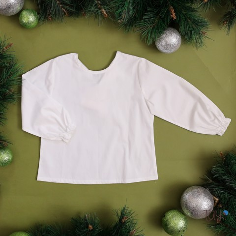 CHERRY  XMAS BLOUSE