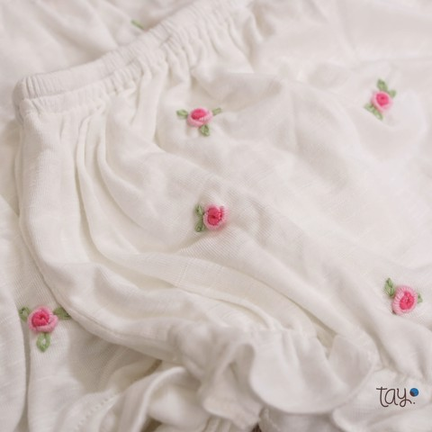 SET BLOOMER DAISY WHITE 01