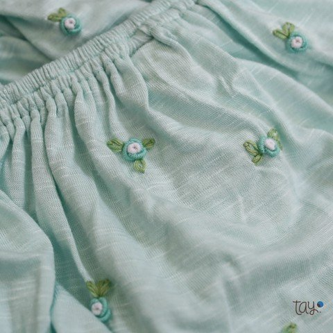 SET BLOOMER DAISY BLUE 01