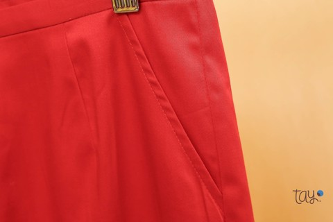 RED FREE CULOTTES