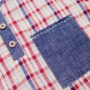 TARTAN MIX DENIM SET