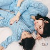 FLOWER BLUE APPLE MM PYJAMAS