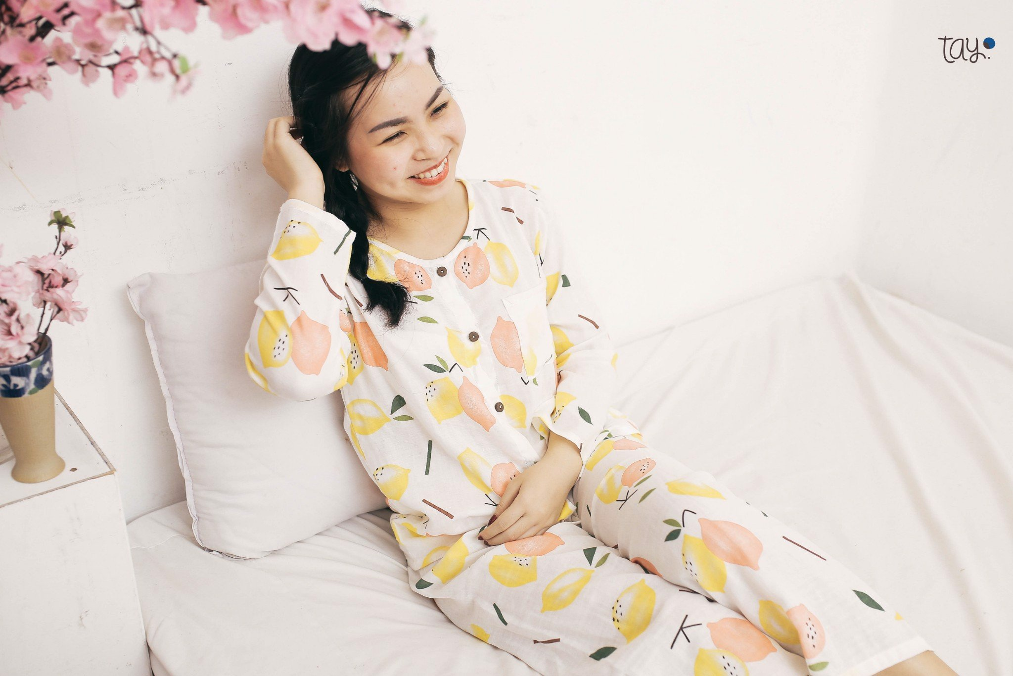YELLOW LEMON MM PAJAMAS