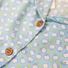 FLOWER BLUE APPLE PYJAMAS
