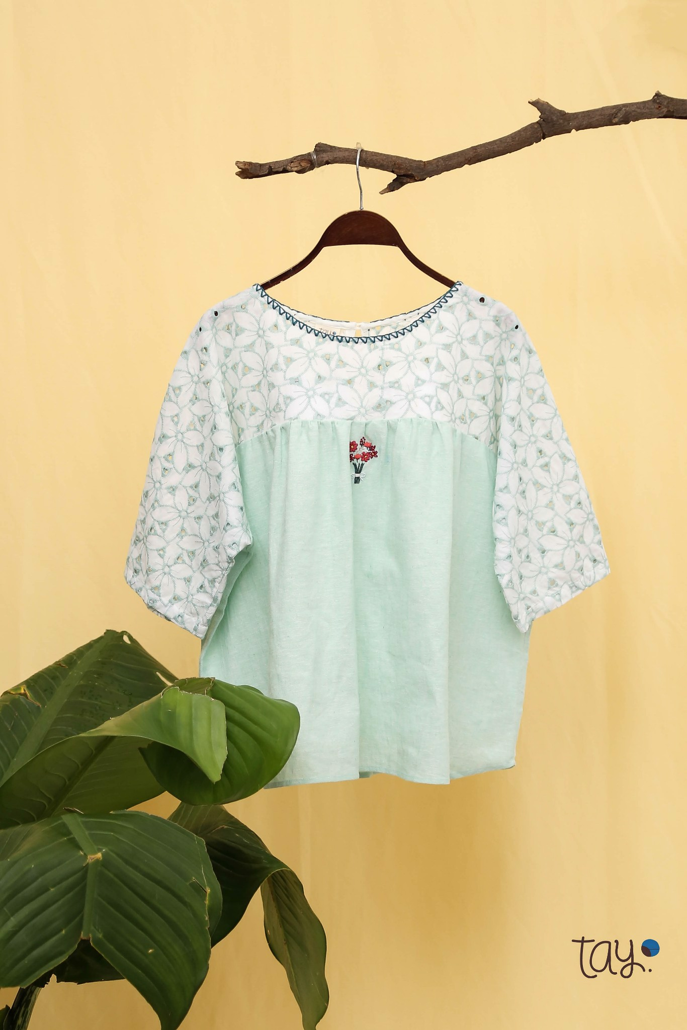 FLORIST LACE mm TOP
