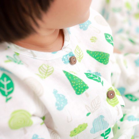 GREEN TREES PAJAMAS