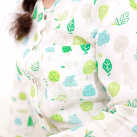 GREEN TREES MM PAJAMAS