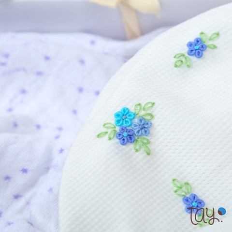 SET BLOOMER DAISY BLUE