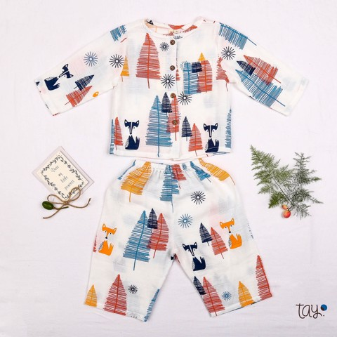 PINE CAT mm PAJAMAS