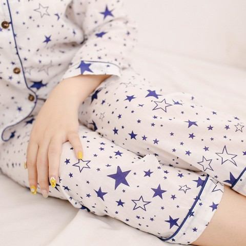 BLUE STAR MM PYJAMAS