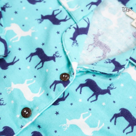 BLUE DEER mm PYJAMAS