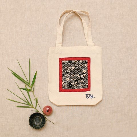 BLACK CAT JOSEI CANVAS BAG
