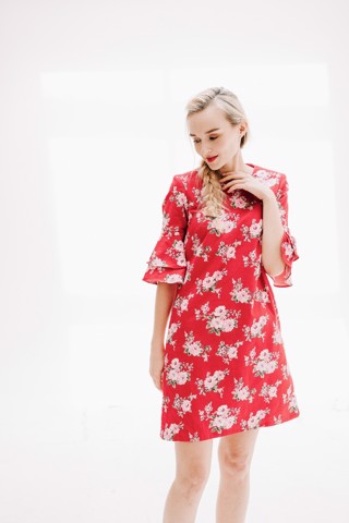 SUNNY FLOWERCUP MM DRESS