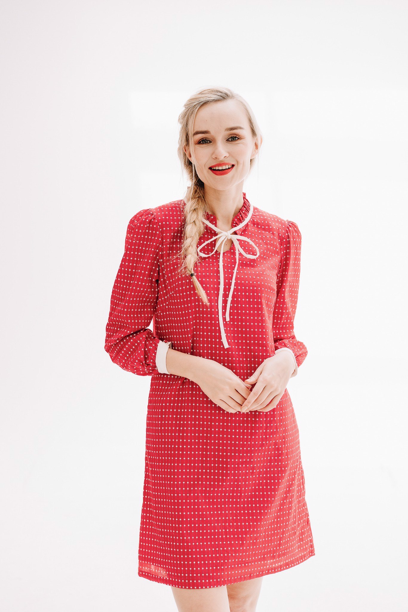 RED ROBY MM DRESS
