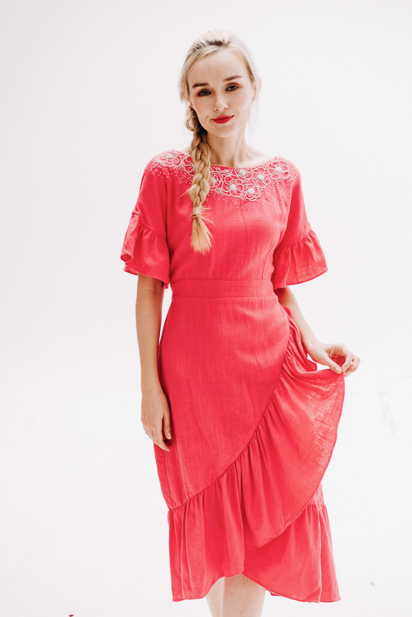 FANCY CAMELIA mm DRESS