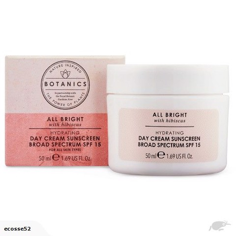 BOTANICS ALL BRIGHT DAY CREAM SPF 15