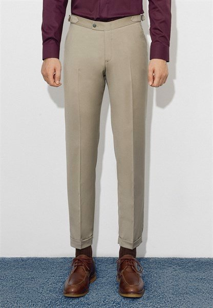 Tan trousers