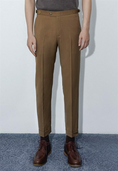 Mocha brown trousers