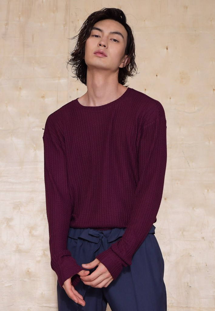 Sangria knitted sweatshirt
