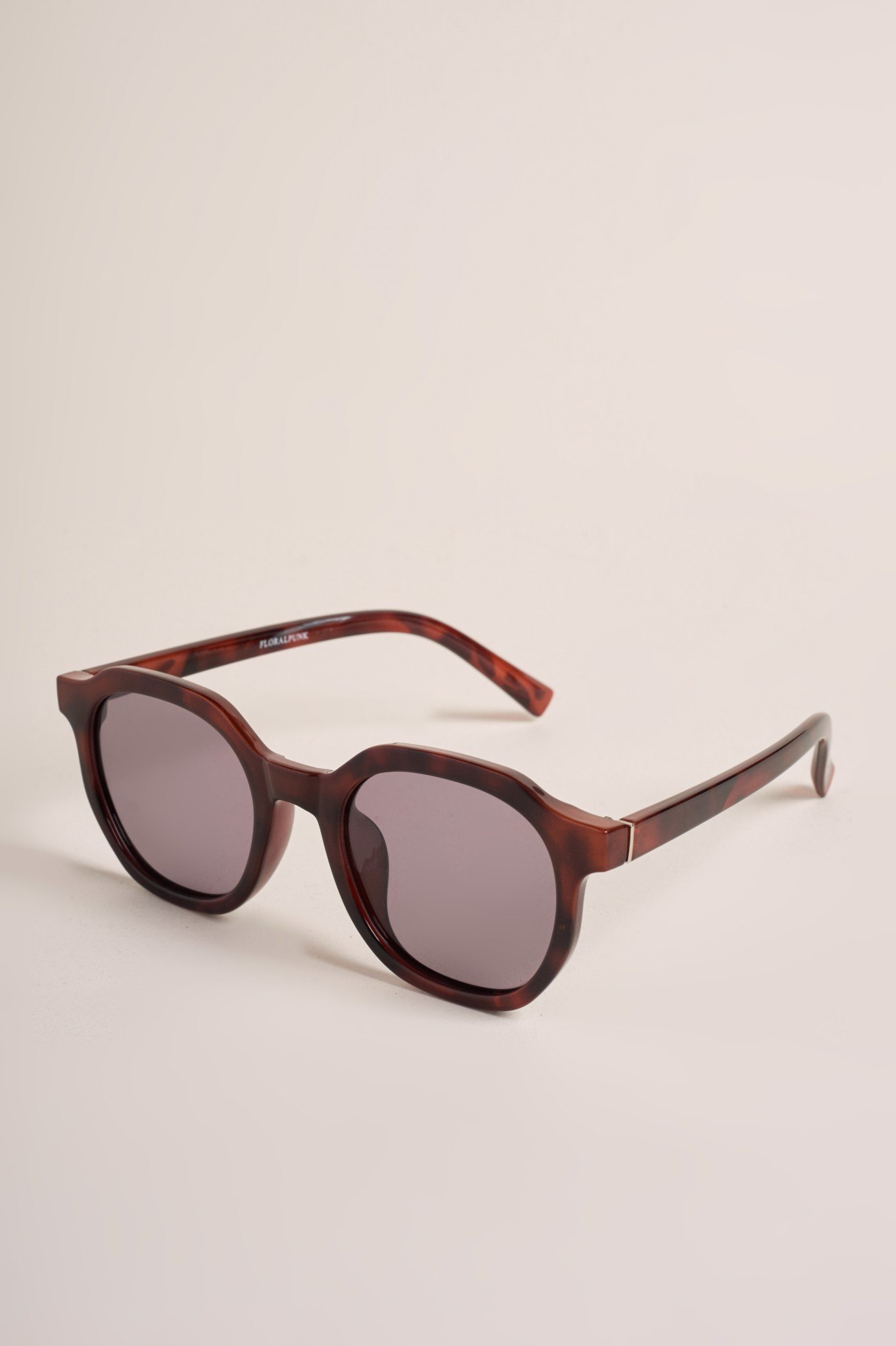 HAZEL BURGUNDY SUNGLASSES
