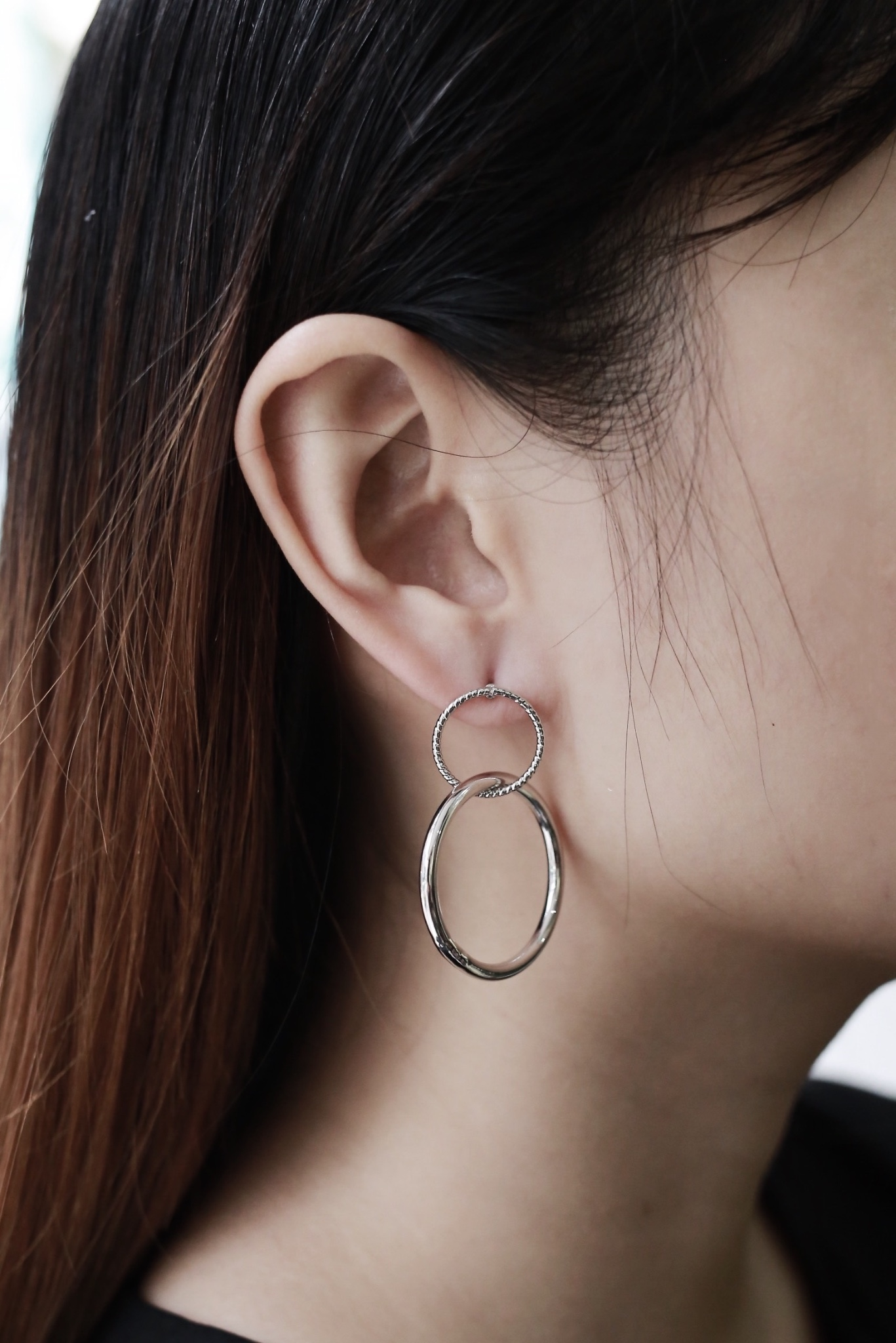 Kin Hoop Earrings