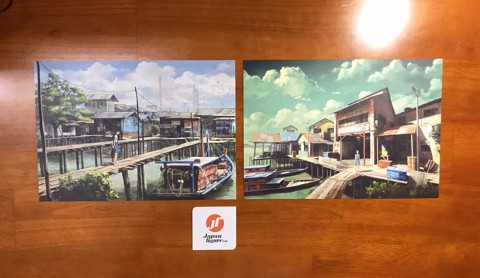 Artwork + Post card - Color or Scenery by FeiGiap
