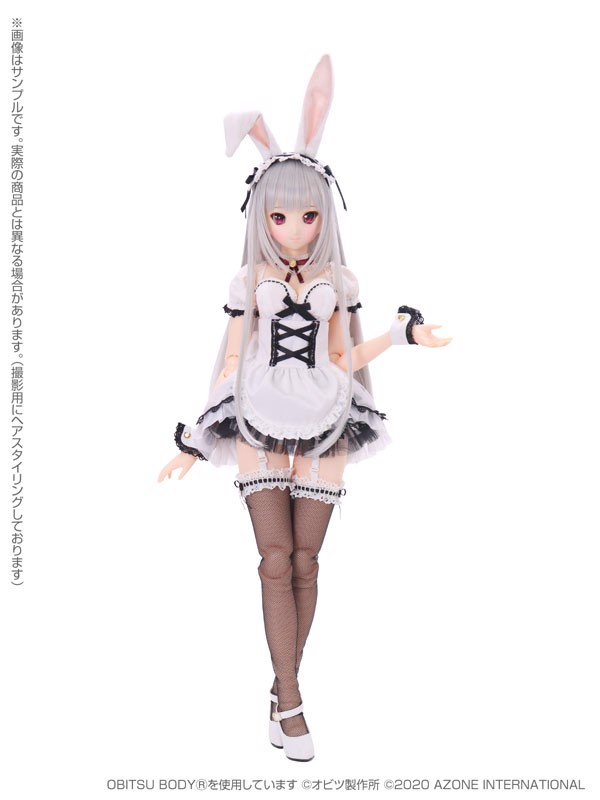 1/3 Iris Collect Series Rino / Moonlit Night Maid Rabbit Complete Doll