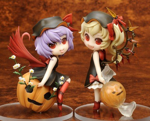 |Hàng cũ| Touhou Project - Remilia Scarlet & Flandre Scarlet - Halloween