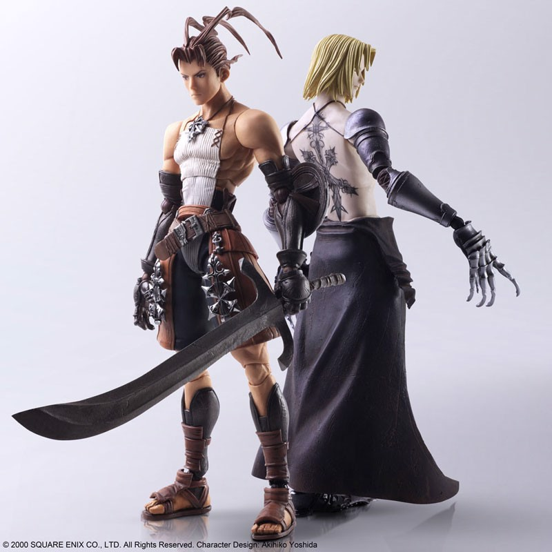 Vagrant Story Bring Arts Ashley Riot & Sydney Losstarot Square Enix