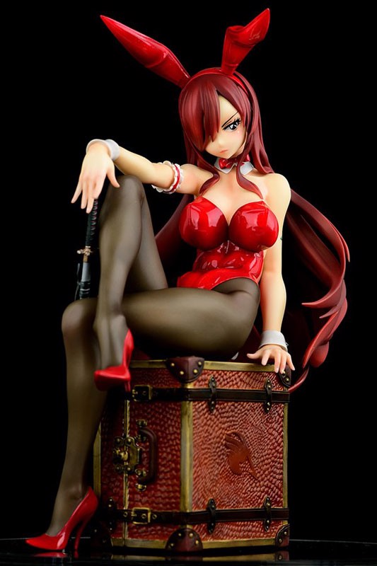 FAIRY TAIL Erza Scarlet Bunny girl_Style/type rosso 1/6