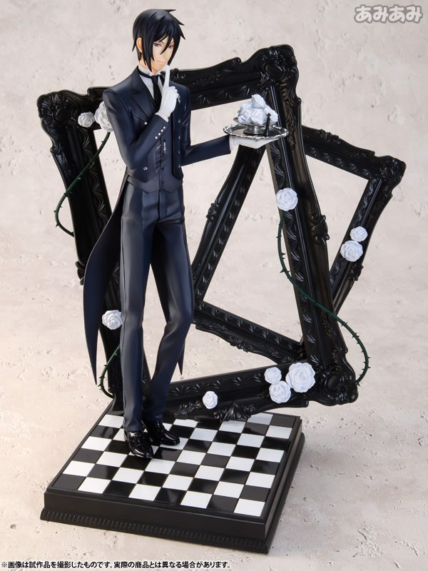 ARTFX J - Black Butler: Book of Circus: Sebastian Michaelis 1/8