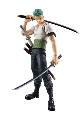Variable Action Heroes - ONE PIECE: Roronoa Zoro PAST BLUE Action Figure(Pre-order)