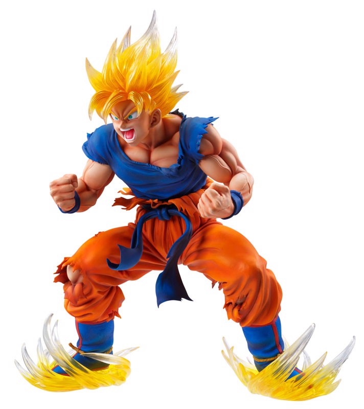 Chozo Art Collection Dragon Ball Z Kai Super Saiyan Son Goku Ver.2