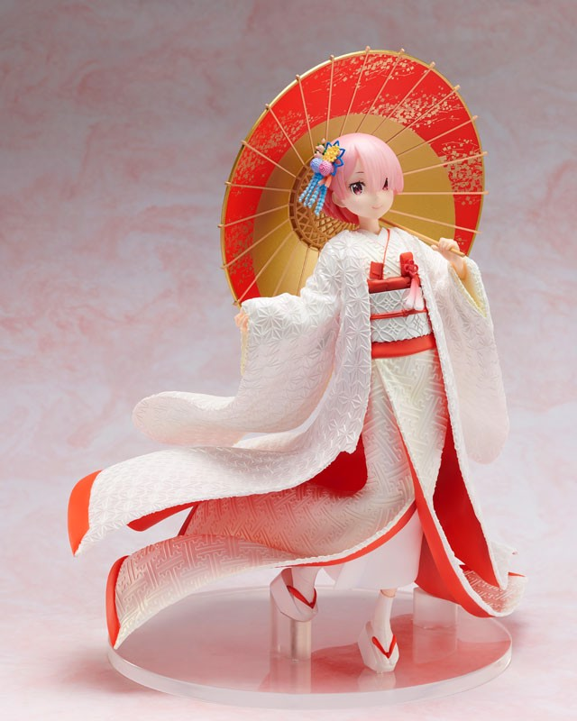 Re:ZERO -Starting Life in Another World- Ram -White Kimono- 1/7
