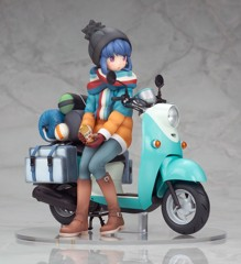 Yuru Camp Rin Shima with Scooter 1/10