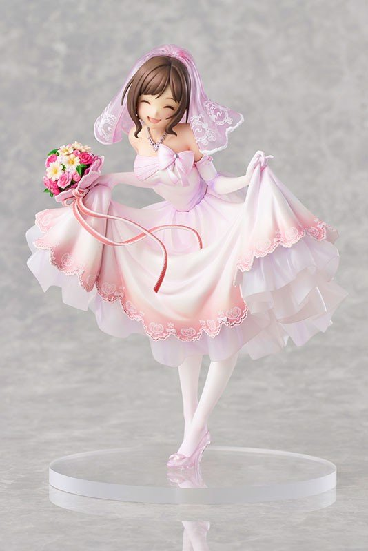 THE IDOLM@STER Cinderella Girls Miku Maekawa Dreaming Bride ver. 1/7