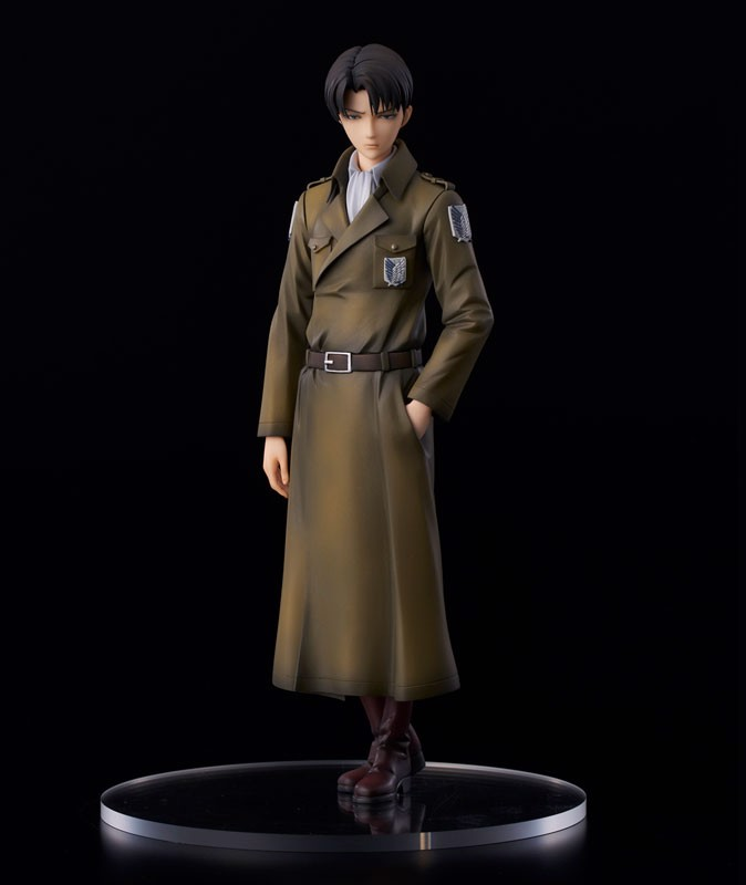 Attack on Titan Levi coat style