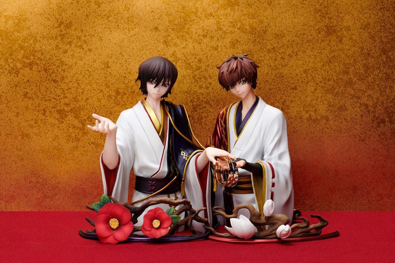 Statue and ring style Code Geass Lelouch Lamperouge & Suzaku Kururugi Ring #11