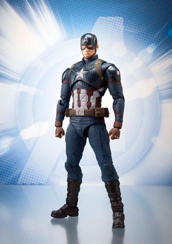 S.H.Figuarts Captain America (Avengers/End Game)