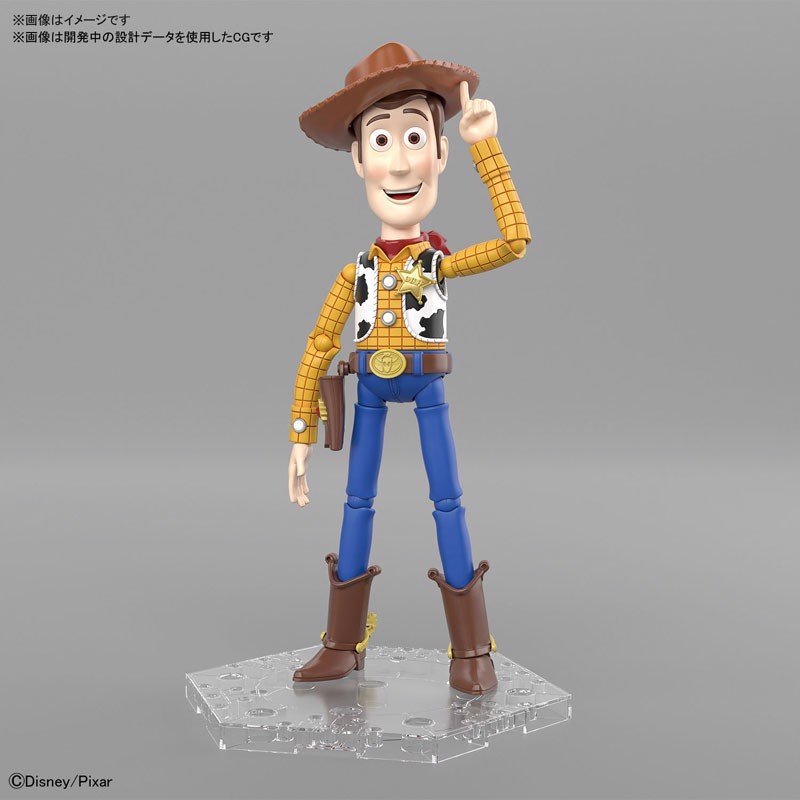 TOY STORY 4 Woody Plastic Mode